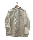 DANTON(ダントン)の古着「ダウンプルーフフードジャケット」|ベージュ