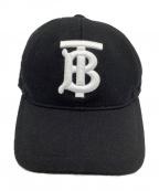 BURBERRY(バーバリー)の古着「キャップ」|ブラック