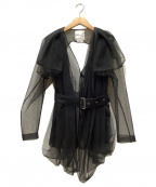 noir kei ninomiya(ノワール ケイ ニノミヤ)の古着「デザインチュールジャケット」|ブラック