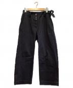 MM6 Maison Margiela()の古着「クロップドコットンパンツ」|ブラック