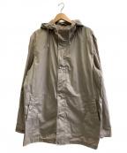 LOUIS VUITTON()の古着「フーデッドコート」|カーキ