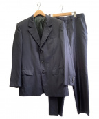 LOUIS VUITTON()の古着「3Bスーツ」 ブラック