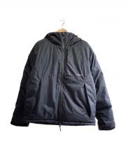 NANGA(ナンガ)の古着「SHIGA DOWN 別注ダウンジャケット」|ブラック