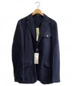 BOGLIOLI(ボリオリ)の古着「BO.Mジャケット」 ネイビー
