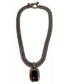 ()の古着「ネックレス」|シルバー×ブラウン