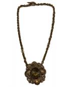 ()の古着「ネックレス」|ゴールド×ブラウン