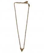 LOUIS VUITTON(ルイ ヴィトン)の古着「ネックレス」|ゴールド