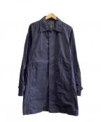 TATRAS(タトラス)の古着「ステンカラーコート」|ネイビー