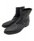 ()の古着「サイドジップブーツ」 ブラック