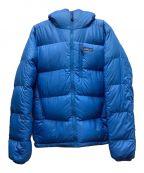 Patagonia()の古着「フィッツロダウンフーディー」|ブルー