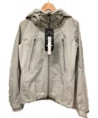 DESCENTE(デサント)の古着「ハードシャルジャケット」 ライトグレー