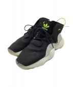 adidas Originals(アディダスオリジナル)の古着「ハイテクスニーカー」|ブラック