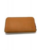 革蛸謹製(カワタコキンセイ)の古着「ラウンドファスナー財布」|タン