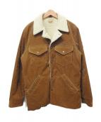 Wrangler(ラングラ)の古着「ボアランチコート」|ブラウン