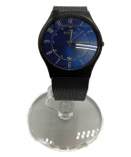 SKAGEN(スカーゲン)の古着「腕時計」 ブルー