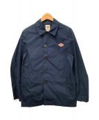 DANTON(ダントン)の古着「タウンプルーフシャツジャケット」 ネイビー