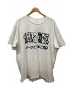 M+RC NOIR(マルシェノア)の古着「カットソー」|ホワイト