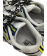 NEW BALANCE (ニューバランス) スニーカー グレー×ネイビー×イエロー サイズ:28cm ML703BB 定価9900円:5800円