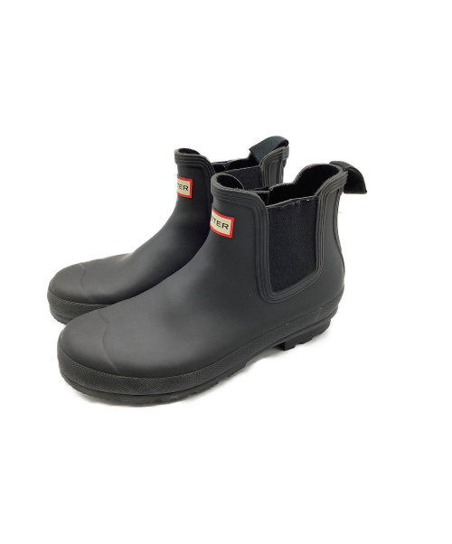 HUNTER(ハンター)HUNTER (ハンター) チェルシーブーツ ブラック サイズ:US9 MFS9075RMAの古着・服飾アイテム