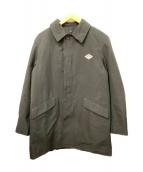 DANTON(ダントン)の古着「ステンカラーコート」|ブラック