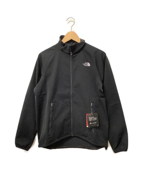 THE NORTH FACE(ザノースフェイス)THE NORTH FACE (ザノースフェイス) フラッシュドライソフトシェルジャケット ブラック サイズ:Sの古着・服飾アイテム