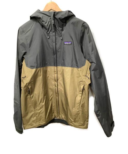 Patagonia(パタゴニア)Patagonia (パタゴニア) トレントシェルジャケット ブラウン×グレー サイズ:XS 春秋物の古着・服飾アイテム