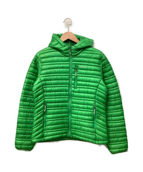 Patagonia(パタゴニア)Patagonia (パタゴニア) ウルトラライトダウンジャケット グリーン サイズ:M 秋冬物の古着・服飾アイテム