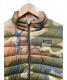 Patagonia (パタゴニア) ダウンジャケット カーキ×ブラウン サイズ:XXL 迷彩 秋冬物:7800円