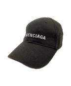 BALENCIAGA(バレンシアガ)の古着「ベースボールキャップ」|ブラック
