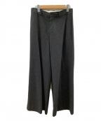 Maison Margiela 10(メゾンマルジェラ 10)の古着「ワイドパンツ」 チャコールグレー