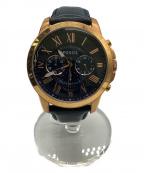 FOSSIL(フォッシル)の古着「腕時計」 ネイビー
