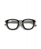 TOM FORD(トム フォード)の古着「伊達眼鏡」|ブラック×シルバー