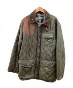 POLO RALPH LAUREN(ポロ・ラルフローレン)の古着「キルティングジャケット」|オリーブ