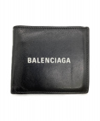 BALENCIAGA(バレンシアガ)の古着「2つ折り財布」 ブラック