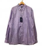 RALPH LAUREN()の古着「シャツ」 パープル