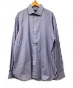 RALPH LAUREN()の古着「シャツ」 ブルー