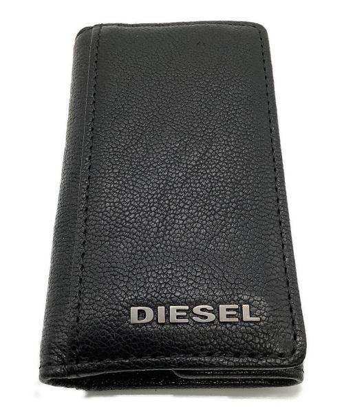 DIESEL(ディーゼル)DIESEL (ディーゼル) キーケース ブラックの古着・服飾アイテム