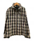 BURBERRY BLACK LABEL(バーバリーブラックレーベル)の古着「スイングトップ」|ベージュ