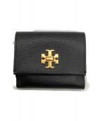 TORY BURCH(トリーバーチ)の古着「財布」|ブラック×ゴールド