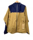 MARMOT(マーモット)の古着「ナイロンジャケット」|ブラウン×ネイビー