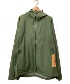 MARMOT(マーモット)の古着「ストームジャケット」|オリーブ