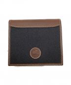 HUNTING WORLD(ハンティングワールド)の古着「2つ折り財布」|ブラック×ブラウン
