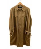 ()の古着「トレンチコート」 ブラウン