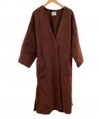 emmi atelier()の古着「コート」 ブラウン
