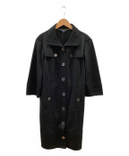 BURBERRY LONDON(バーバリー ロンドン)の古着「トレンチコート」|ブラック