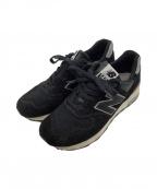 NEW BALANCE(ニューバランス)の古着「スニーカー」|ブラック