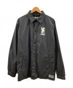 CHROME(クローム)の古着「コーチジャケット」|ブラック