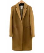()の古着「ウールチェスターコート」|ベージュ