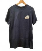 MONCLER(モンクレール)の古着「半袖カットソー」 ネイビー