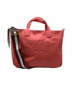 MARC JACOBS(マークジェイコブス)の古着「2WAYトートバッグ」|ピンク